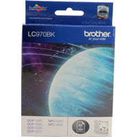 Brother LC970BK Ink Cartridges Black LC-970BK-0