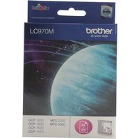 Brother LC970M Ink Cartridges Magenta LC-970M-0