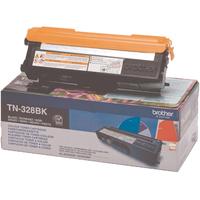 Brother TN328 Toner Cartridge Super High Capacity Black TN328BK-0