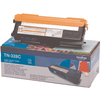 Brother TN328 Toner Cartridge Super High Capacity Cyan TN328C-0