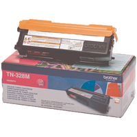 Brother TN328 Toner Cartridge Super High Capacity Magenta TN328M-0