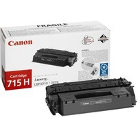 Canon 715H Toner Cartridge Black CRG-715H 1976B002AA-0
