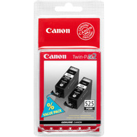 Canon PGI-525 Ink Cartridge Black x2 Multi-Pack PGI525 4529B006Aa-0