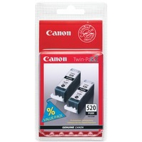 Canon PGI-520BK Ink Cartridge Black Twin Pack 2932B009-0