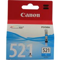 Canon CLI-521C Ink Cartridge Cyan CLI521C 2934B001AA-0