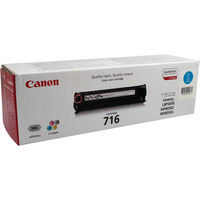 Canon 716C Toner Cartridge Cyan CRG-716C 1979B002AA-0