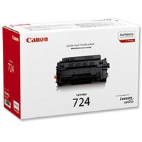 Canon LBP-6750DN Laser Toner Cartridge CRG724 Black 3481B002AA-0