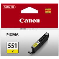 Canon Pixma CLI-551Y Ink Cartridge Yellow 6511B001-0