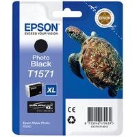 Epson Stylus Photo T1571 Ink Cartridge Photo Black C13T15714010-0