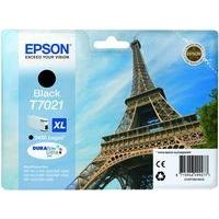 Epson T7021 Ink Cartridge High Yield Black C13T70214010-0