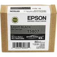 Epson T5807 Ink Cartridge Light Black C13T580700-0