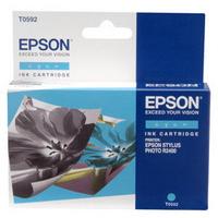 Epson T0592 Ink Cartridge Cyan C13T059240-0