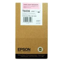 Epson T6036 Ink Cartridge Light Vivid Magenta C13T603600 High Capacity-0