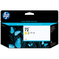 HP 72 Ink Cartridge Yellow C9373A High Capacity HP72-0