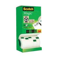 3M Scotch 81933R14 3M Magic Tape 19mm x33 Metres Pk12 Rolls/2 FOC-0