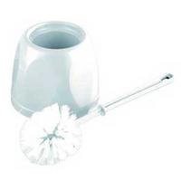 Toilet Brush and Holder White-0