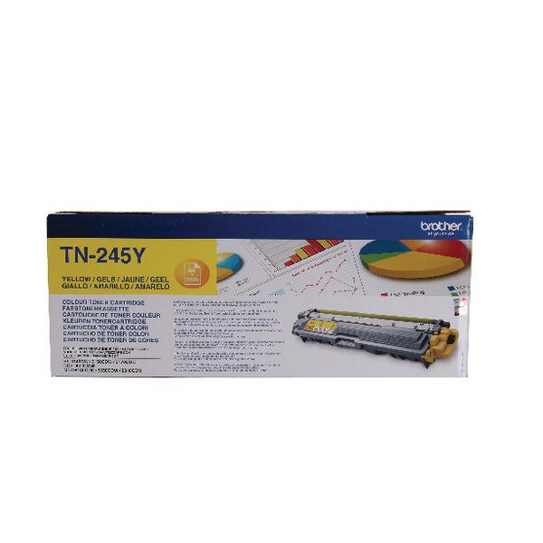 Brother TN245y Yellow Toner High Yield-0