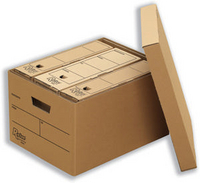 R-Kive Storage Boxes Earth Series File A4 Foolscap Fellowes 00203 Pk10-0