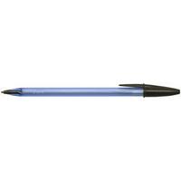 Cristal Soft Medium Ball Point Pen Black-0