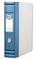Hermes HD 80mm Polypropylene Box File A4 2D-Ring Blue 8.BA4.007-0