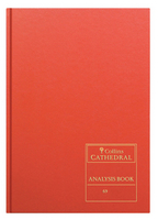 Collins Cathedral Analysis Book Cash Columns 96 Pages 69/5.1 811105/7-0