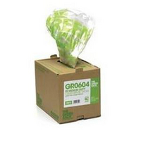 The Green Sack Refuse Bag Clear in Dispenser Box Pk75 GR0601-0