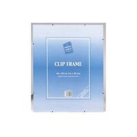 Signature A4 Clip Frames Clear CF2130NG