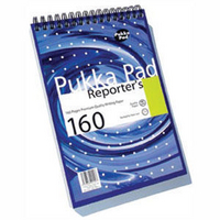 Pukka Pad Reporters Shorthand Notebook 80gsm 160 Pages NM001