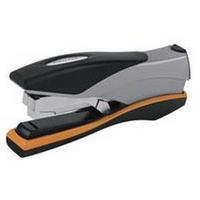 Rexel Optima 40 Manual Stapler Silver/Black/Orange 2102357