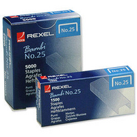 Rexel Staples No.25 Bambi Pk5000 05025