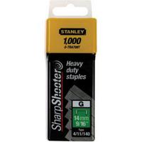 Stanley SharpShooter Heavy Duty 10mm 3/8'' Type G Staples Pk1000 1-TRA706T