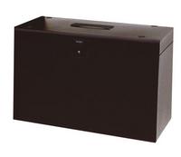 Cathedral A4 Metal File Box Black A4Bk