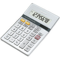 Sharp EL-330ER Semi-Desktop Calculator 8-digit Silver