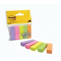 Post-it Notes Markers Assorted 670-5 Pack of 500-0