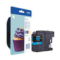 Brother LC-123 CMY Tri-Pack Ink Cartridge LC123RBWBP-0