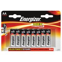 Energizer MAX E91 AA Battery Pk 12 E300112600-0