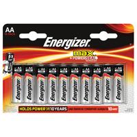Energizer MAX E91 AA Battery Pk 16 E300132000-0