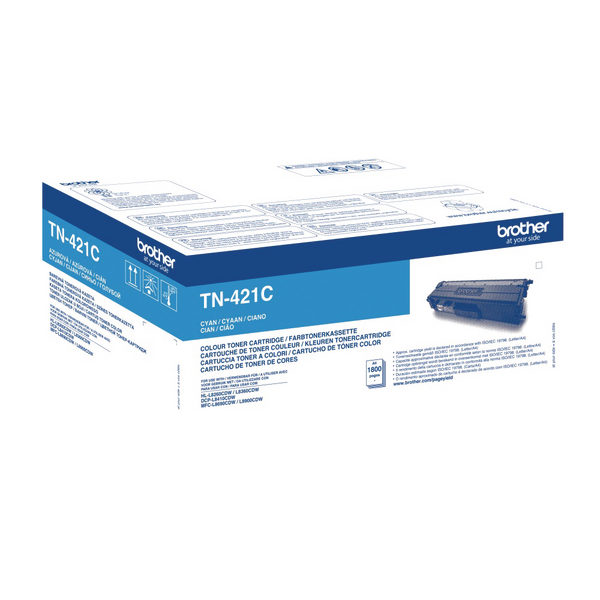 Brother TN421C Cyan Laser Toner Cartridge TN421C-0