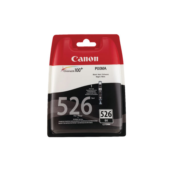 Canon CLI-526 Ink Cartridge Black 4540B006-0