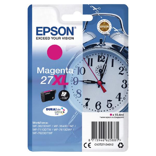 Epson 27XL Magenta Ink Cartridge C13T27134012-0