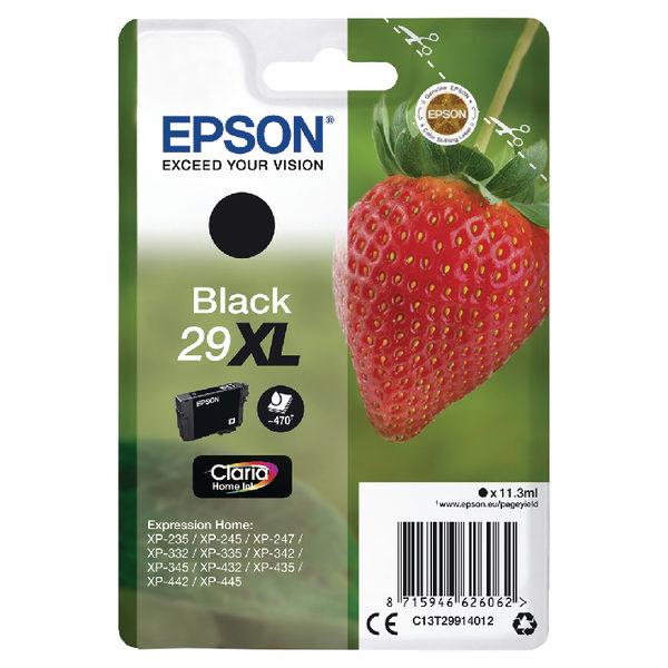Epson 29XL Black Ink Cartridge C13T29914012-0