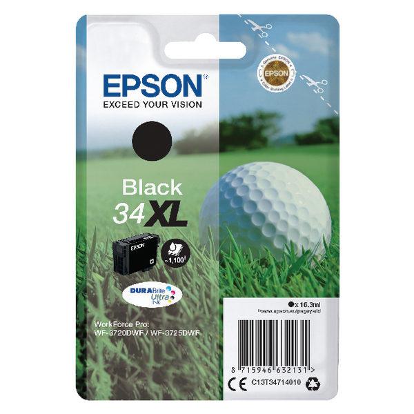Epson Black 34XL DURABrite Ultra Ink Cartridge-0