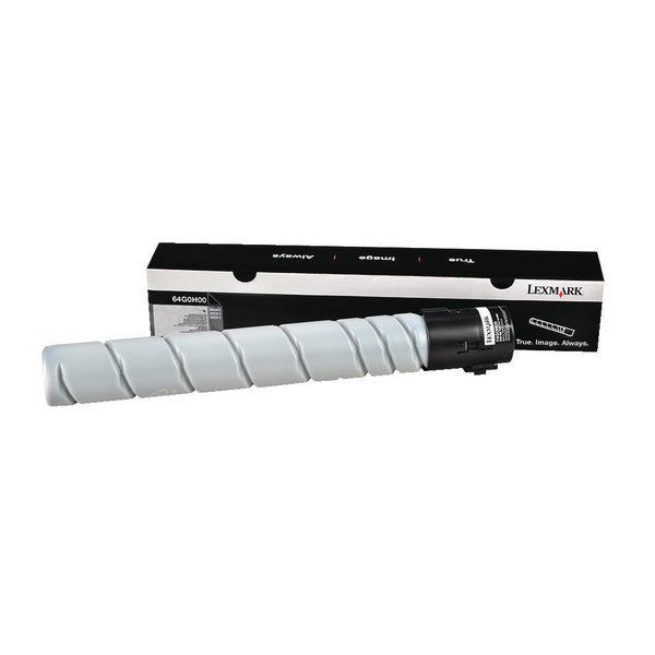 Lexmark Black Laser Toner Cartridge 64G0H00-0