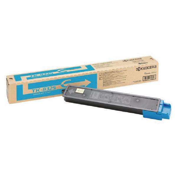 Kyocera Cyan Laser Toner Cartridge TK-8325C-0