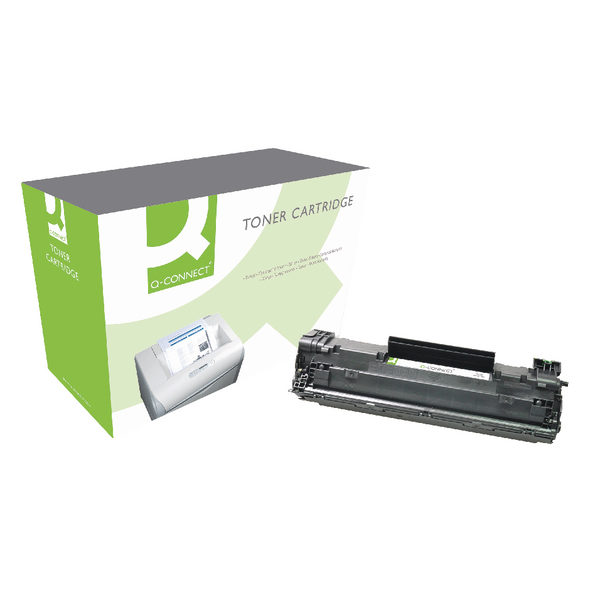 Q-Connect HP 83X HY Black Laser Toner Cartridge CF283X-0
