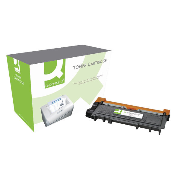 Q-Connect Brother Black Laser Toner Cartridge TN2310-0