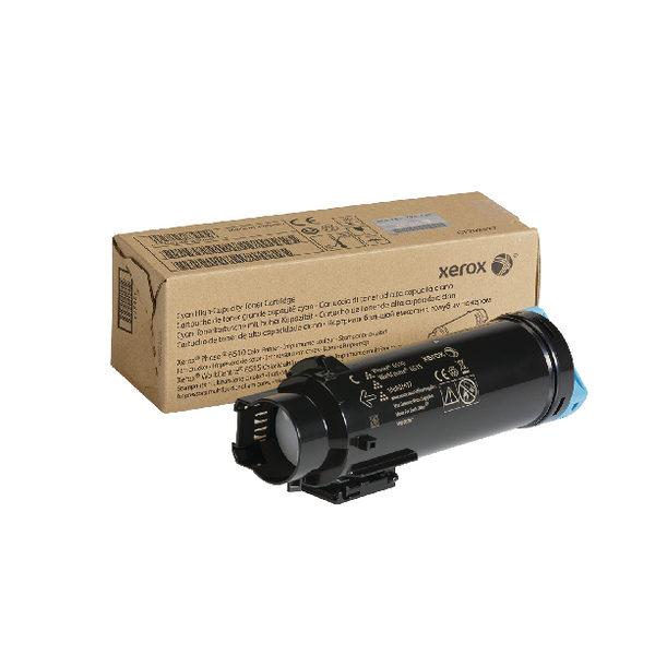 Xerox HY Workcentre 6515 Phaser 6510 Cyan Laser Toner Cartridge 106R03477-0