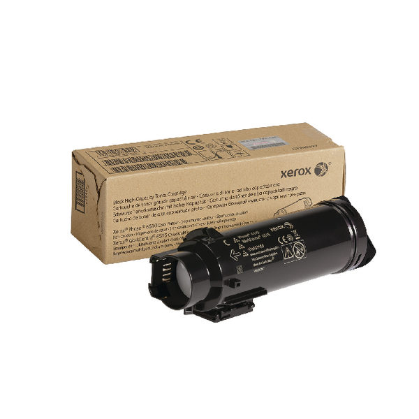 Xerox HY Workcentre 6515 Phaser 6510 Black Laser Toner Cartridge 106R03480-0