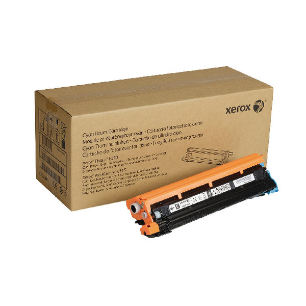 Xerox Workcentre 6515 Phaser 6510 Cyan Drum Cartridge 108R01417-0