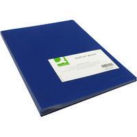 Q-Connect Presentation A4 Display Book 40 Pocket Blue KF01259